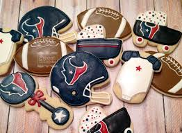 Image result for football themed sugar cookies