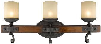 golden lighting 1821 ba3 bi madera rustic black iron halogen 3 light bath loading zoom