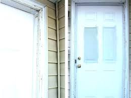 install interior door jamb replace exterior door jamb installing door casing how to install exterior trim