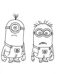 Small Picture Free Printable Minion Coloring Pages Miakenasnet