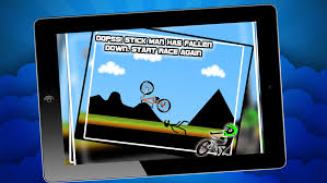 Stickman Downhill Bmx Cycle Bike Racing Game Bike Game