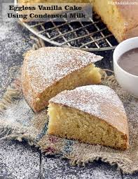 Calories Of Eggless Vanilla Cake Using Condensed Milk