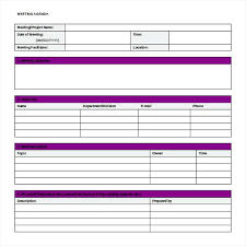 Office Meeting Minutes Project Meeting Minutes Template Word Format Free Download