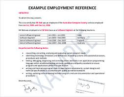 Reference Letter Template Details You Should Include When