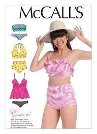 Mccalls Swimsuit Patterns