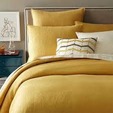 bold bright linen bedding