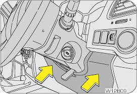 owner s manual put the steering column shroud back and ensure you lock the tilt steering lever