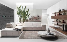 White Leather Chairs For Living Room Modern Living Room Brown White Leather Base Round White Table