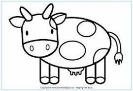 Simple Coloring Pages For 2 Year Olds Coloring Page