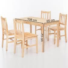Mit Esszimmertisch Stühlen Essgruppe 4 Esstisch Esstischset Vn0nm8w