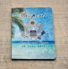 Us Passport Design Save The Date Wedding Passport Design Fee Us Traditional
