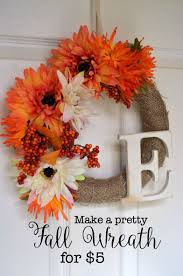 Easy Fall Wreath | Wreaths, Easy and Easy fall wreaths