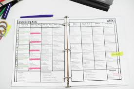 Weekly Lesson Plan Templates Free Lesson Plan Template Mrs Jones Creation Station