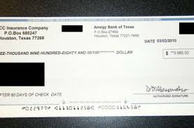 - Finance A Like Aol Cashing Scam Looks What Check Fake Lottery