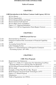 Dcaa Organization Chart Information For Contractors Pdf