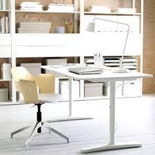 IKEA BEKANT Desk White in a Home Office