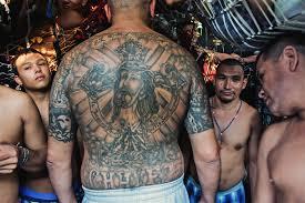 El Salvador Prison Photography