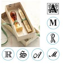 initial wax seal kit murano glass handle with red gold sealing wax choice of handle