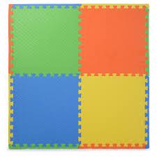 eva soft foam floor play mats interlocking tiles children kids nursery puzzle