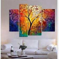 No Frame New York Large Modern Canvas Wall Art Oil Painting Modular Picture  Framework Tableau Puff