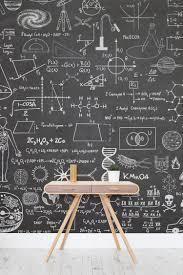 Small Picture Scientific Chalkboard Effect Wall Mural Chalkboards Wallpaper