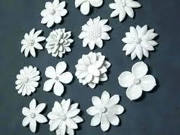 wall flower decor ceramic wall sculptures ceramic wall flower decor ceramic flower wall art custom order