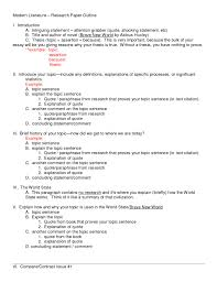 Example Of Mla Research Paper Research Paper Format Rosemarygemmell