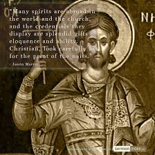 Christian Martyr Quotes Best Of Justin Martyr Concordia And Koinonia
