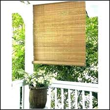 roll up blinds for outside outdoor patio improbable bamboo decorating ideas roller canada