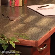 make a plastic laminate table top diy