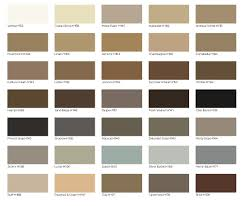 Info Color Charts Grout Shield Grout Restoration System