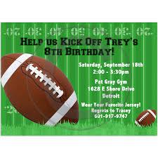 Football Invitation Template Party Invitation Template Football Birthday Party Invitations