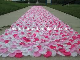 rose petal aisle runner rose petal aisle runner diy