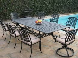 ... Black Rectangle Modern Metal Patio Sets Sale Stained Ideas For Home  Depot Patio Sets ...