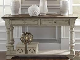 antique white sofa table. Morgan Creek Antique White Sofa Table
