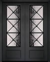 rustic old world exterior door 1 3 4
