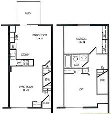 Lincoln Townhomes PT  Housing And Residence LifeTownhomes Floor Plans