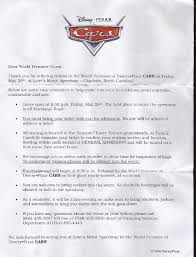 Cover Letter Sample Examples Disney Walt World International Program