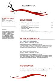 Free Hair Stylis Marvelous Barber Resume Template Creative Sample Awesome Barber Resume