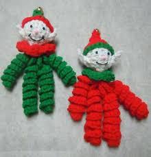 Crochet Christmas Ornaments Patterns Beauteous Elf Ornament Christmas Crochet Pattern