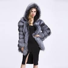 zadorin streetwear faux fur coat winter jacket fashion women thick warm faux fur coats with hooded plus size outerwear