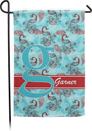 Peacock Single Sided Garden Flag With Pole (Personalized) (Personalized