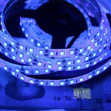 Black Light Led Strips For Cars Us 9 75 35 Off 120leds M 2835 Smd Uv Light Led Strip Uv Night Fishing Lights Ultraviolet 395 405nm Led Blacklight Waterproof Boat Strip Lamp In Led
