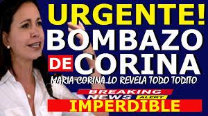 HACE 5 MINUTOS🔴 MARIA CORINA MACHADO PRESIDENTA - ALEX SAAB HOY - MADURO  TIEMBLA - CARLOS VECCHIO - YouTube