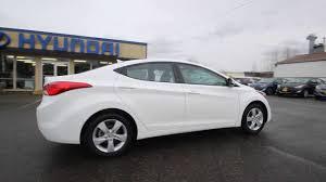 hyundai elantra 2013 white. 2013 Hyundai Elantra GLS White Skagit County Mt Vernon YouTube On