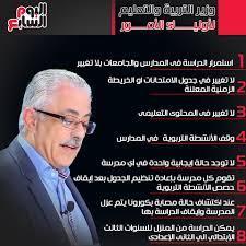 إنفوجراف.. وزير التعليم يواجه الأسئلة الشائعة عن الدراسة بإجابات قاطعة -  اليوم السابع