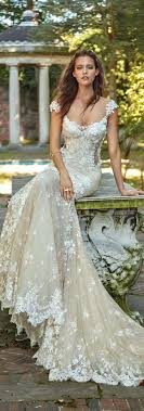 glamorous mermaid wedding dresses mywedding