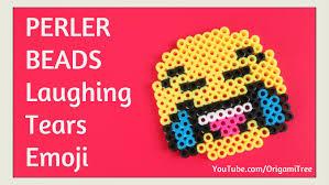 Emoji Perler Bead Patterns Inspiration DIY Perler Beads Emoji Tutorial EASY Laughing Tears Laughing