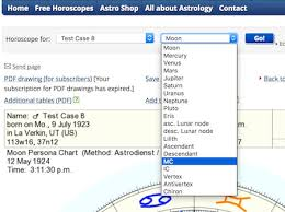 Circular Charts Astrodienst