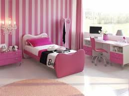 Bedroom Girl Bedroom Design With Single Pink And White Bed Frame